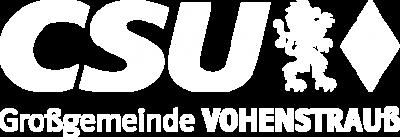 CSU Vohenstrauss Logo